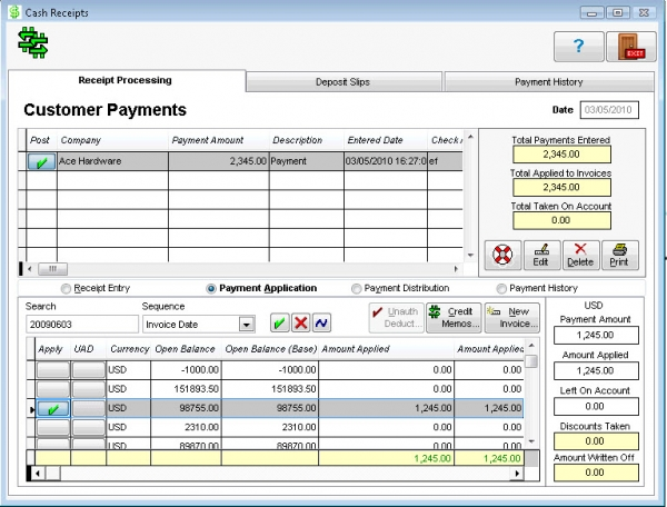 WinMAGI - Accounts Receivable